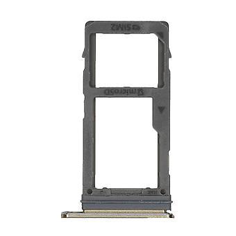 Echte Samsung Galaxy A8 - SM-A530 - Dual SIM Card Tray - Goud - GH98-42519C