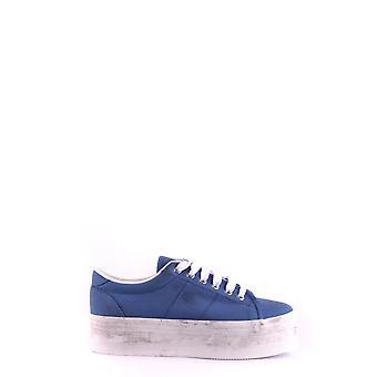 Jeffrey Campbell Ezbc132041 Women's Blue Fabric Sneakers
