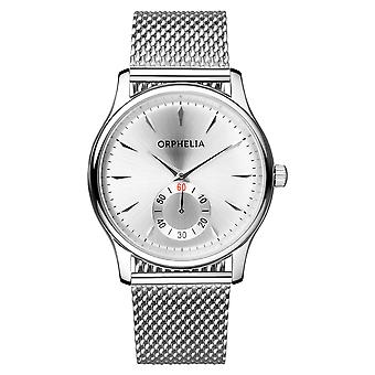 ORPHELIA Mens Analogue Watch Milanese Silver Stainless steel 153-7711-88