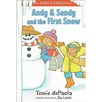 Andy & Sandy and the First Snow by Tomie dePaola - Jim Lewis - Tomie
