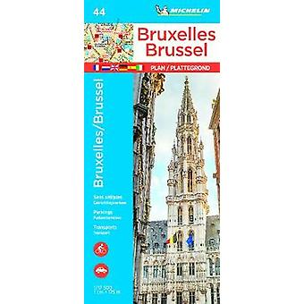 Michelin Brussels Map 44 - 9782067228894 Book