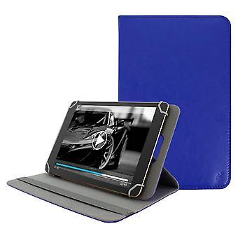 Tablet case 10, 5 til 11 tommer Universal etui, stativ støtte, blå