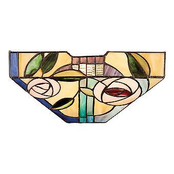 Willow Tiffany stil vägg ljus - interiör 1900 64389