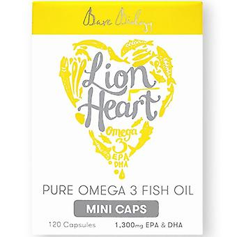 Nahé biológia Lion Heart Pure omega-3 mini-CAPS 120