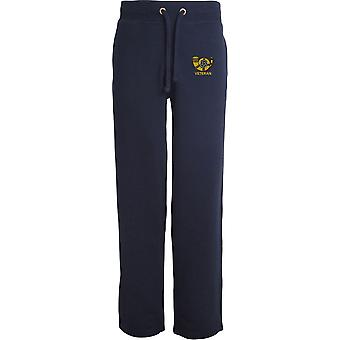 Kings Own Yorkshire Light Infantry Veteran - Licensed British Army Embroidered Open Hem Sweatpants / Jogging Bottoms