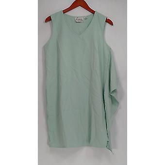 Linea von Louis Dell'Olio Petite Kleid ärmelloses Celadon grün A302556