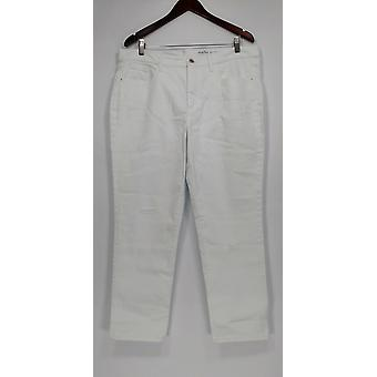 Denim and Co. Femmes-apos;s Jeans Studio Classic Denim White A304475 #0