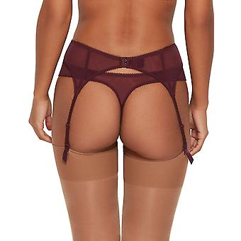Gossard 7712 mulheres ' s superboost Lace Fig roxo suspender cinto