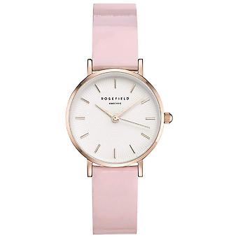 Rosefield premium gloss Quartz Analog Women Watch with Cowhide Bracelet SHPWR-H37