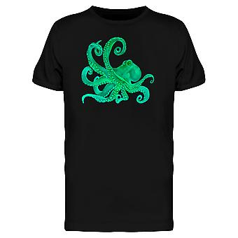 Watercolor Octopus Sea Poulpe Tee Men's -Image by Shutterstock
