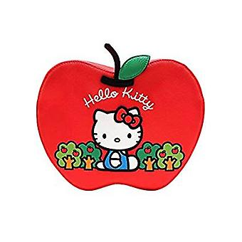 Tote Bag - Hello Kitty - Red Apple Xbody New santb1581