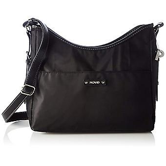 Picard Sonja Black Women's Shoulder Bag (Schwarz) 11x23x32 centimeters (B x H x T)
