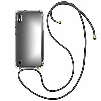 Backcover Shockproof Cord TPU + PC for Samsung A10 - M10 Transparent