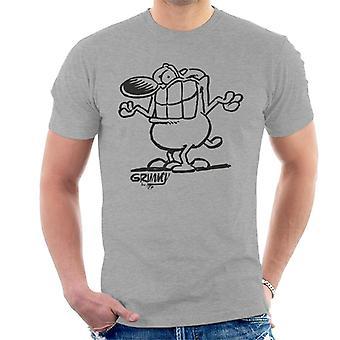 Grimmy Shoulder Shrug Men's T-Shirt