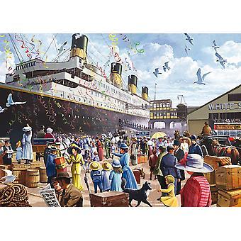 King Titanic Jigsaw Puzzle (1000 Pieces)