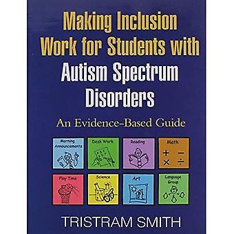 Faire du travail d'inclusion pour les élèves souffrant de troubles du spectre autistique: un guide fondé sur des données probantes