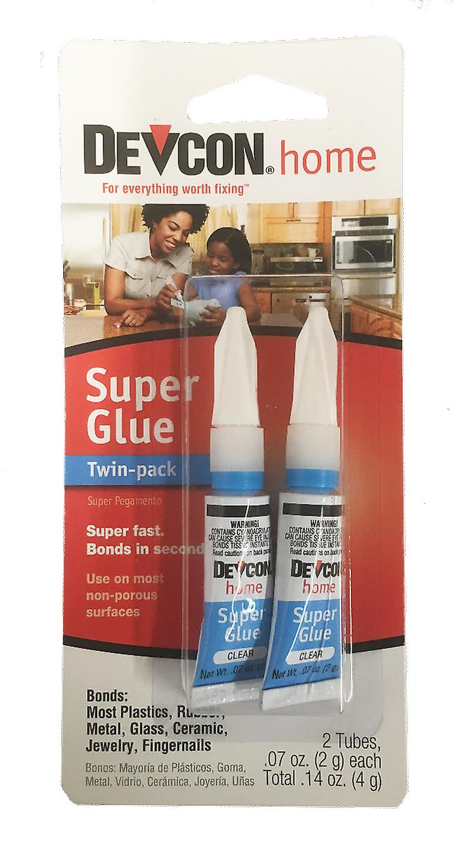 Devcon - Super glue twin pack 2g tubes