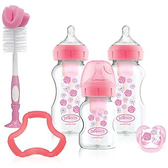 Dr Brown's Options Gift Set Pink