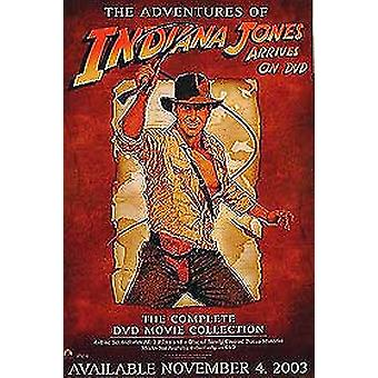 إنديانا جونز (مجموعة دي في دي من جانب واحد) ملصق السينما الأصلي
