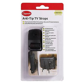 Clippasafe Anti-tip Tv Straps
