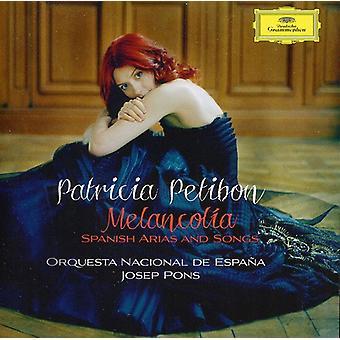 Patricia Petibon-Melancol a: spanska Arias och Songs [CD] USA import
