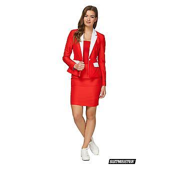 Santa kerst pak Women's Suit Master Slimline Economy 2-delig