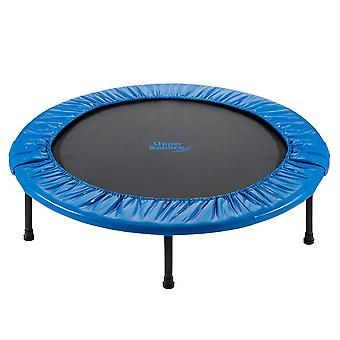 Upper Bounce - 44 Inch 112 cm Mini Fitness Exercise Trampoline Rebounder Trampette for Gym, Indoor Workout, Cardio, Weight Loss - Foldable
