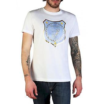 Versace Jeans - Clothing - T-Shirts - B3GTB73C_36598_003 - Men - white,steelblue - S