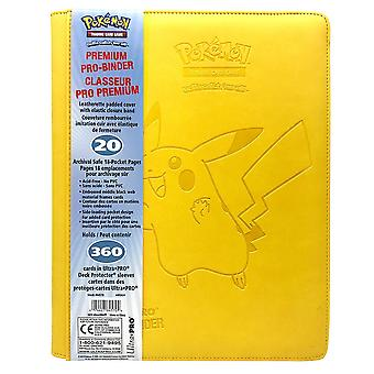 Ultra Pro Premium 9-Pockets Pikachu Collector's 360 Card Cards
