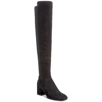 Kenneth Cole New York Womens Eryc7 Leather Square Toe Knee High Cold Weather ...