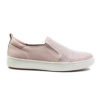 Tamaris 24609-20 Rose Pink Jewelled Womens Slip On Casual Shoes