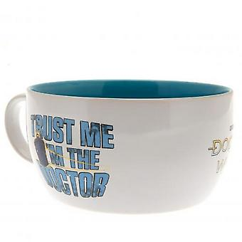 Doctor Who Trust me mok en Bowl ontbijt set