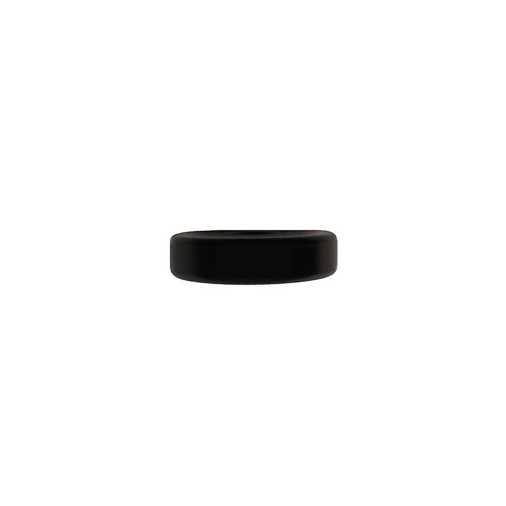 Curseur en PVC Diamètre noir 4 cm (Pouch 4 pièces)