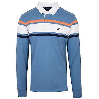 GANT GANT camisa de polo rugger azul