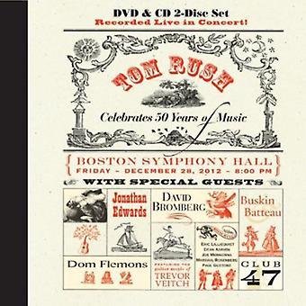 トム ラッシュ - 祝う 50 年の音楽 (CD ・ DVD) [CD] 米国のインポート