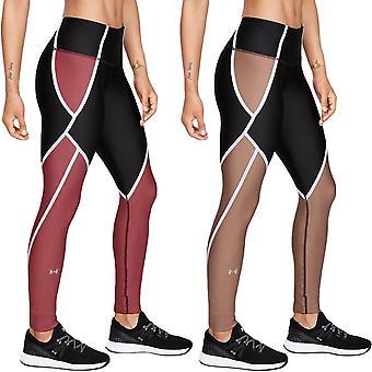 Under Armour UA dame varme gear Edgelit Sports gym træning under bukser leggings