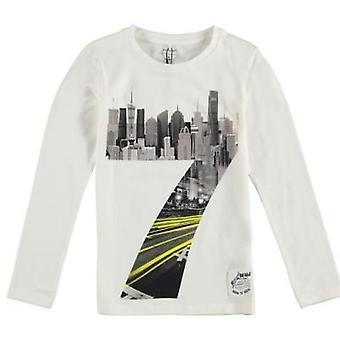 Name it Witte Jongens T-Shirt Nitkoru Name-It