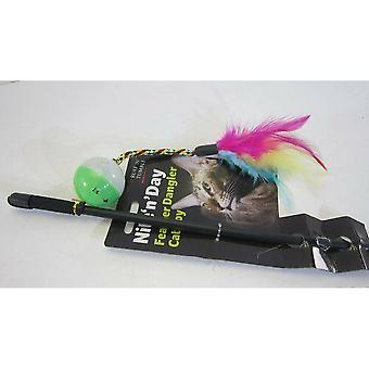 Sharples Ruff �'N�' Tumble Nite �'N�' Day Feather Dangler