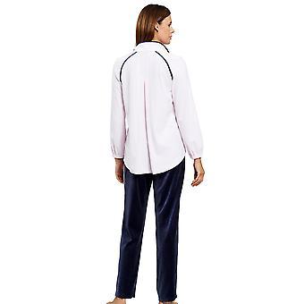 Feraud 3201068-11812 kvinder ' s couture fløjl morgen Loungewear sæt