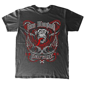 Gas Monkey Garage Pinstripe Automobile Official T-Shirt