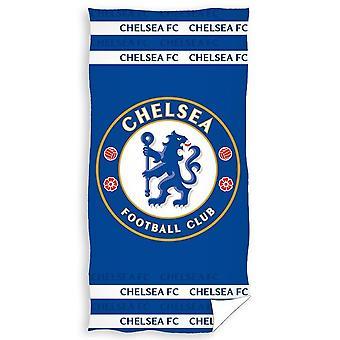 Chelsea FC Crest velour strand håndkle