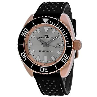 Oceanaut Men-apos;s Silver Dial Watch - OC0523