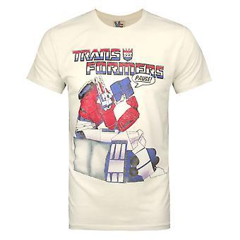 Junk Food Transformers Pause Men's T-Shirt