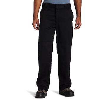 Dickies Uomini's Loose Fit Double Knee Twill Work Pant,, Nero, Taglia 32W x 34L