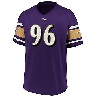 Iconic Poly Mesh Supporters Jersey - Baltimore Ravens