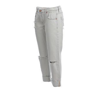 Oneteaspoon 22925brando Women's Grey Cotton Jeans