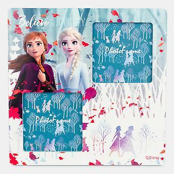 Cadre de photo en bois gelé