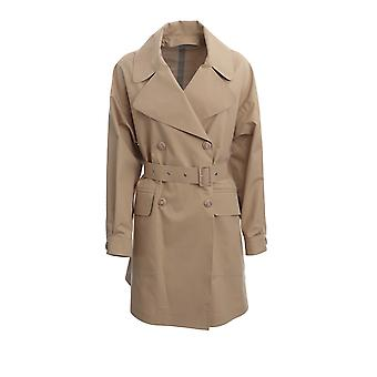 Moncler 1b72740c0494040 Women's Beige Cotton Trench Coat