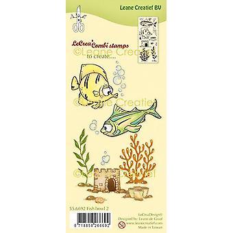 LeCrea - clear stamp combi Fish 2 55.6692 (04-20)