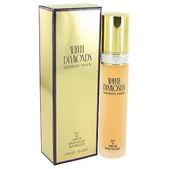 Diamantes brancos eau de parfum spray por elizabeth taylor 402454 50 ml